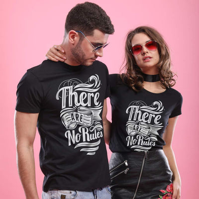 There Are No Rules, Matching Tees For Couples