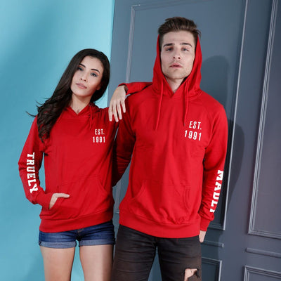 Truly Madly, Matching Hoodies For Couples