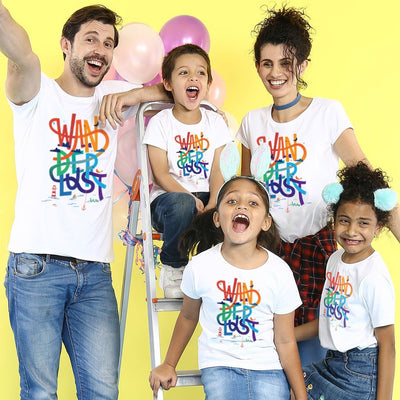 Wanderlust Holiday Family Tees