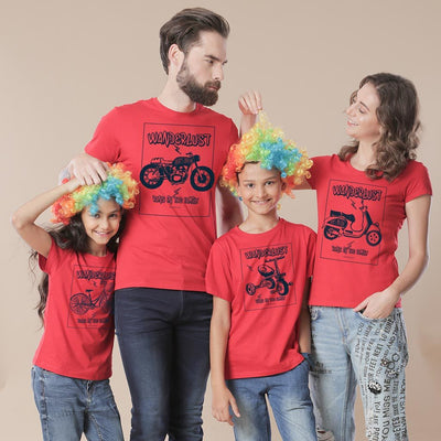 Wanderlust Runs in the Family Tees