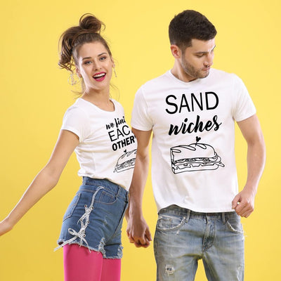 Sandwich Love, Matching Couple Tees