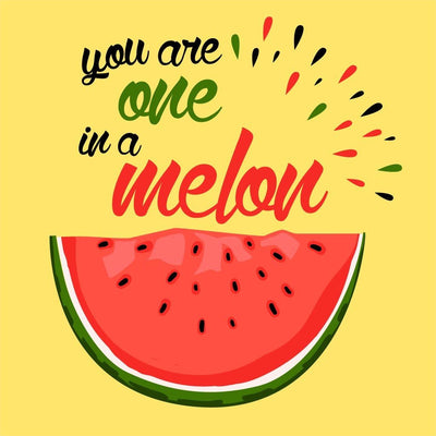 You Are One In A Melon Dad & Daughter Tshirt