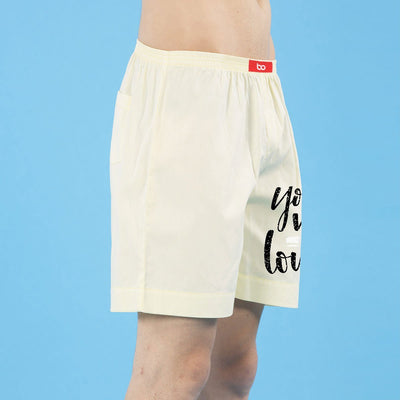 You Me Love Matching Cotton Couple Boxers