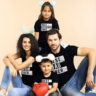 The Best Family, Matching Tees For Family