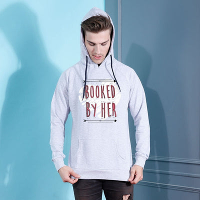 Booked By Him/Her, Matching Hoodie For Men And Crop Hoodie For Women