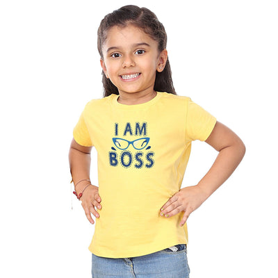I used to be the Boss Matching Dad & Daughter Tshirt