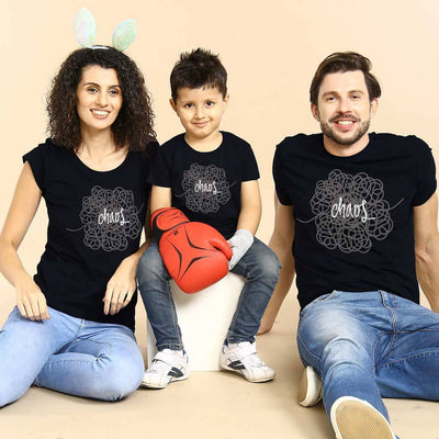Chaos,Matching Tees For Family