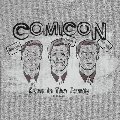 Comicon Runs in the Family Tees