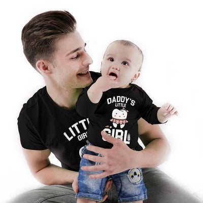 Little Daddy/Daddy's Little girl Bodysuit and Tees