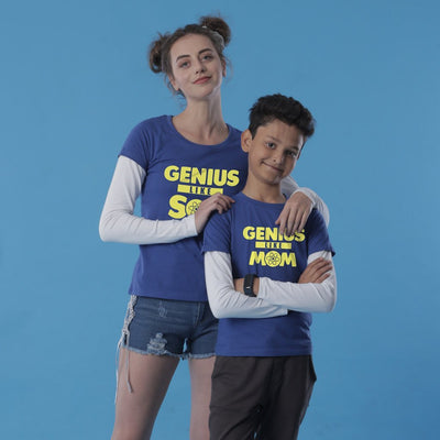 Genius Duo, Mom And Son Tees