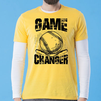 Yellow Game Changer Father-Son Tees