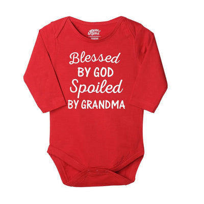 Grandmas Favorite, Set Of 3 Bodysuits For The Baby
