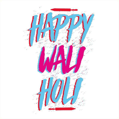 Happy Wali Holi Family Tees