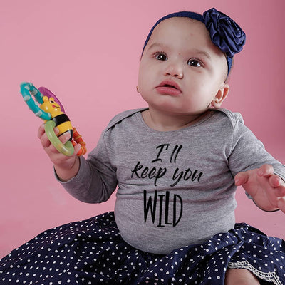 I ll Keep You Safe/Wild, Matching Tee And Bodysuit For Mom And Baby (Girl)