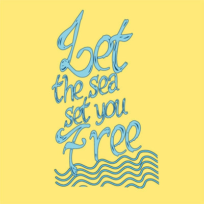 Let The Sea Set You Free Family Tees