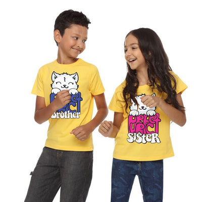 Perfect Brother/Sister,Matching Sibling Tees
