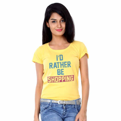 I'd rather be shopping Tees