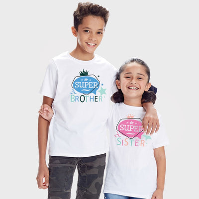 We Are Super, Matching Tees For Brother And Sister