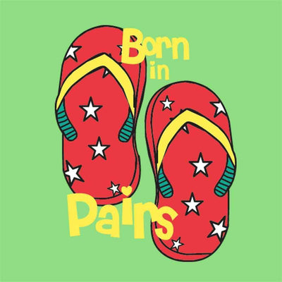 T-Shirt - Born In Pairs Tees