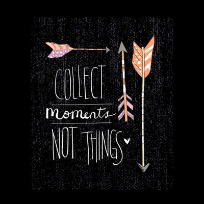T-Shirt - Collect Moments Not Things Family Tees
