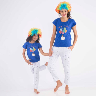 Dream High, Matching Sleepwear For Mother And Daughter