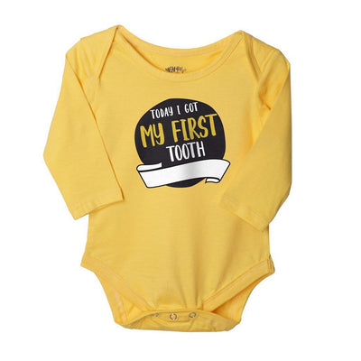 Milestones, Set Of 6 Assorted Bodysuits For The Baby
