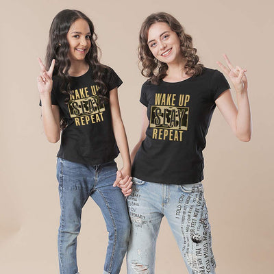 It's Time To Slay, Mom And Daughter Matching Tees