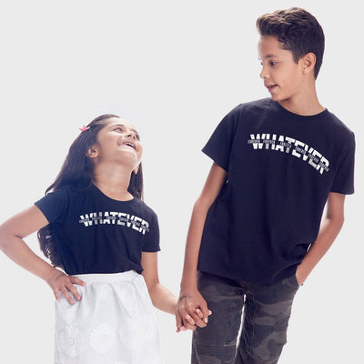 Whatever, Matching Tees For Brother And Sister