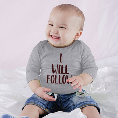 I Will Follow, Matching Tee And Babysuit For Mom And Baby (Boy)
