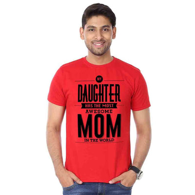 Most awesome Mom Dad And Daughter Tshirt