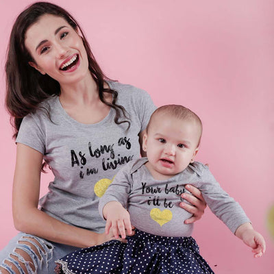 Your Baby I'll Be Mom Baby Bodysuit And Tees