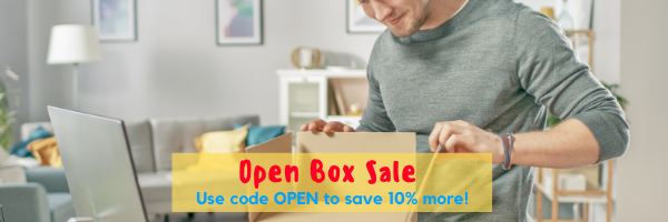 baseboard cover open box sale