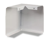 90 Degree Corners Only for Slant/Fin Revital/Line Baseboard Heater Replacement Cover in Brite White