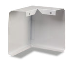 WAREHOUSE - 90 Degree Corners Only for Slant/Fin Revital/Line Baseboard Heater Replacement Cover in Brite White
