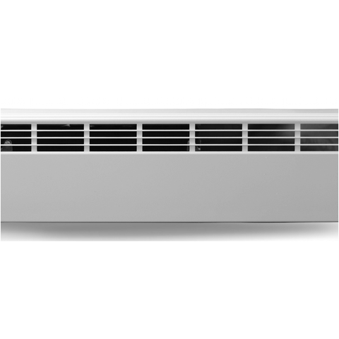WAREHOUSE - Revital/Line Aluminum Baseboard Heater Replacement Cover in Brite White