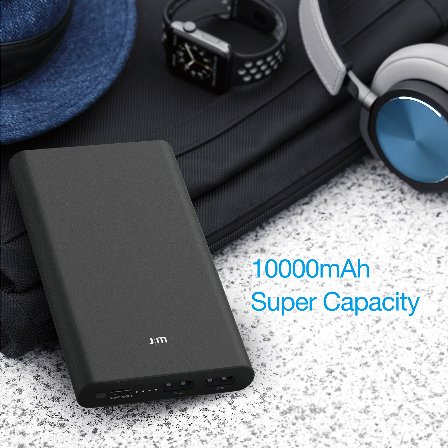 Gum™ Slim PD/QC [10000mAh]
