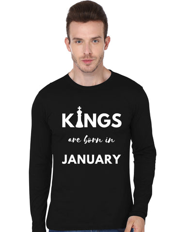 KINGS ARE BORN IN JANUARY FULLSLEEVE