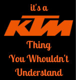 THE KTM THINGS