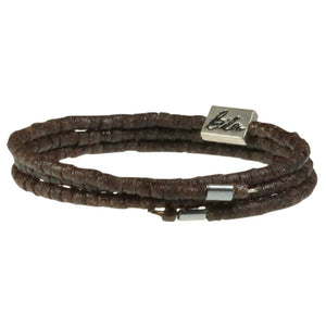 So simple armbånd brun - fra Pernille Bülow fairtrade smykkekollektion