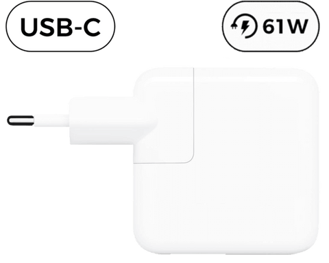 Macbook Pro USB-C Oplader - 61W - (Kompatibel)