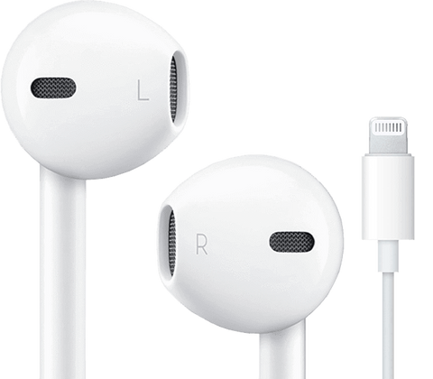 iPhone Høretelefoner (Earpods) med Lighting-stik til iPhone 7, 8, X, Xs