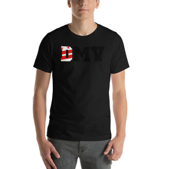 Black (D)MV Short-Sleeve  Unisex T-Shirt