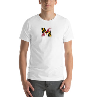 White D(M)V Short-Sleeve Unisex T-Shirt