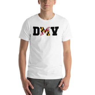 Black D(M)V Short-Sleeve Unisex T-Shirt