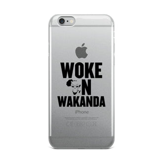 Woke on Wakanda iPhone Case