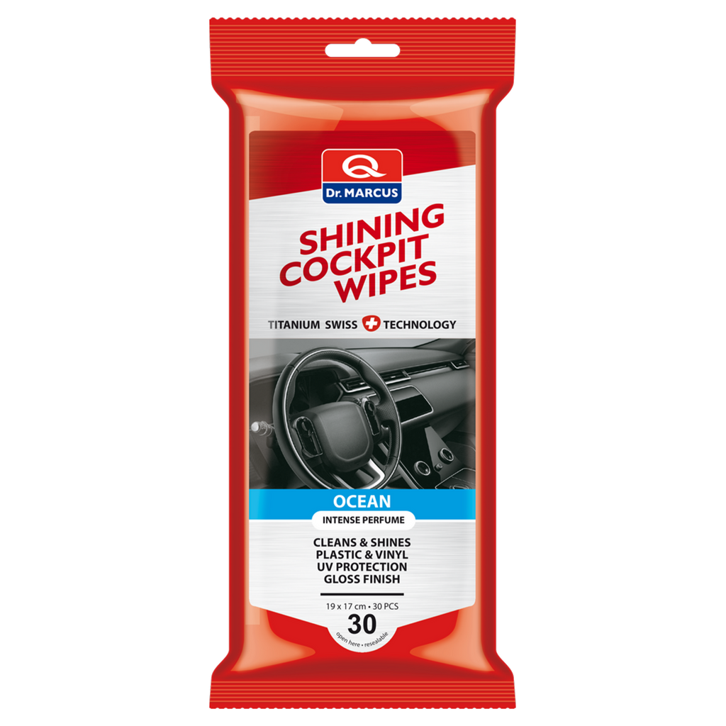 TITANIUM Shining Cockpit Wipes