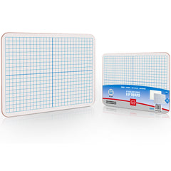 "Dry Erase XY Axis Lap Board 9""X12"" Single Whiteboard (Double sided)"