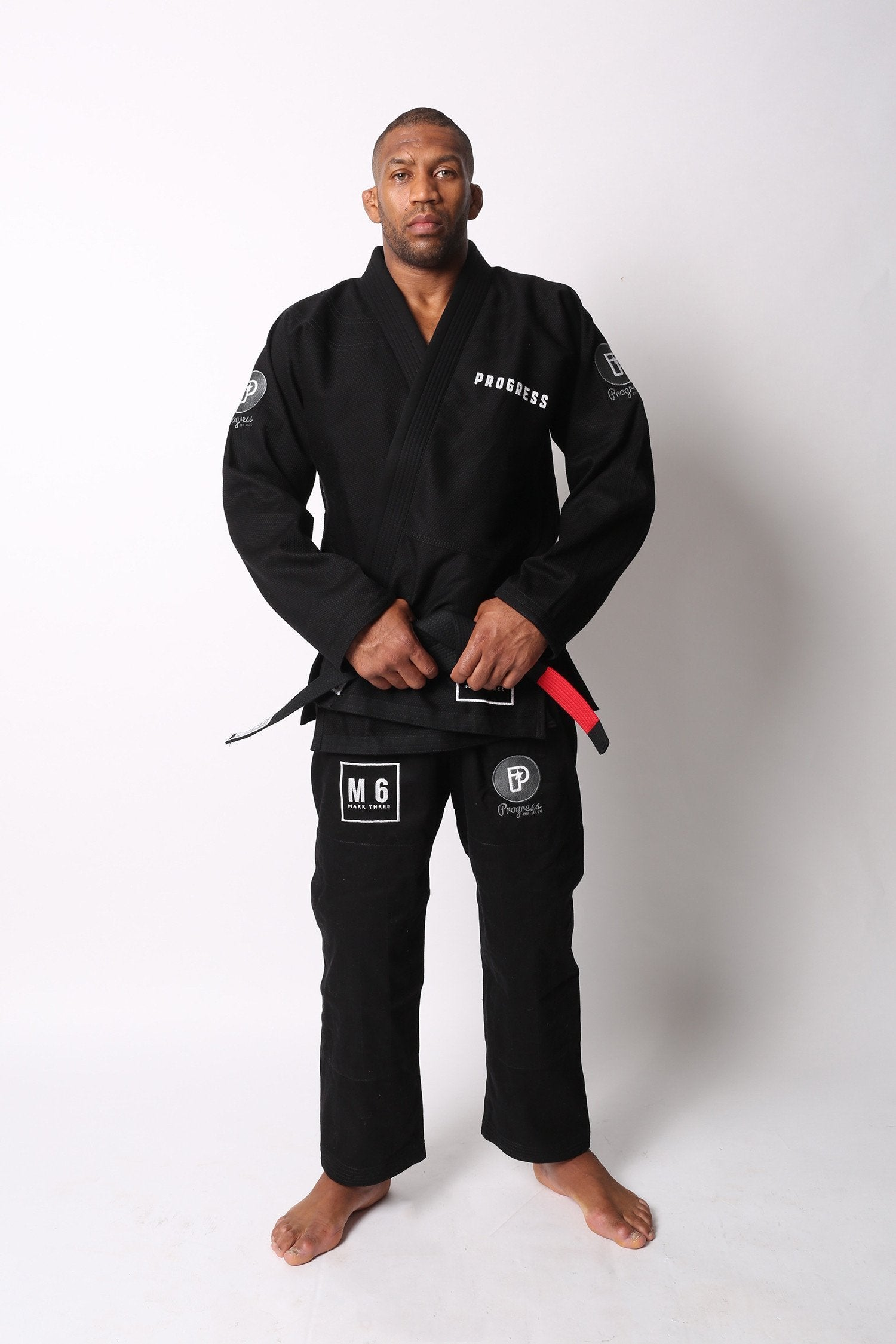 Image of Progress M6 MK3 Black BJJ Gi
