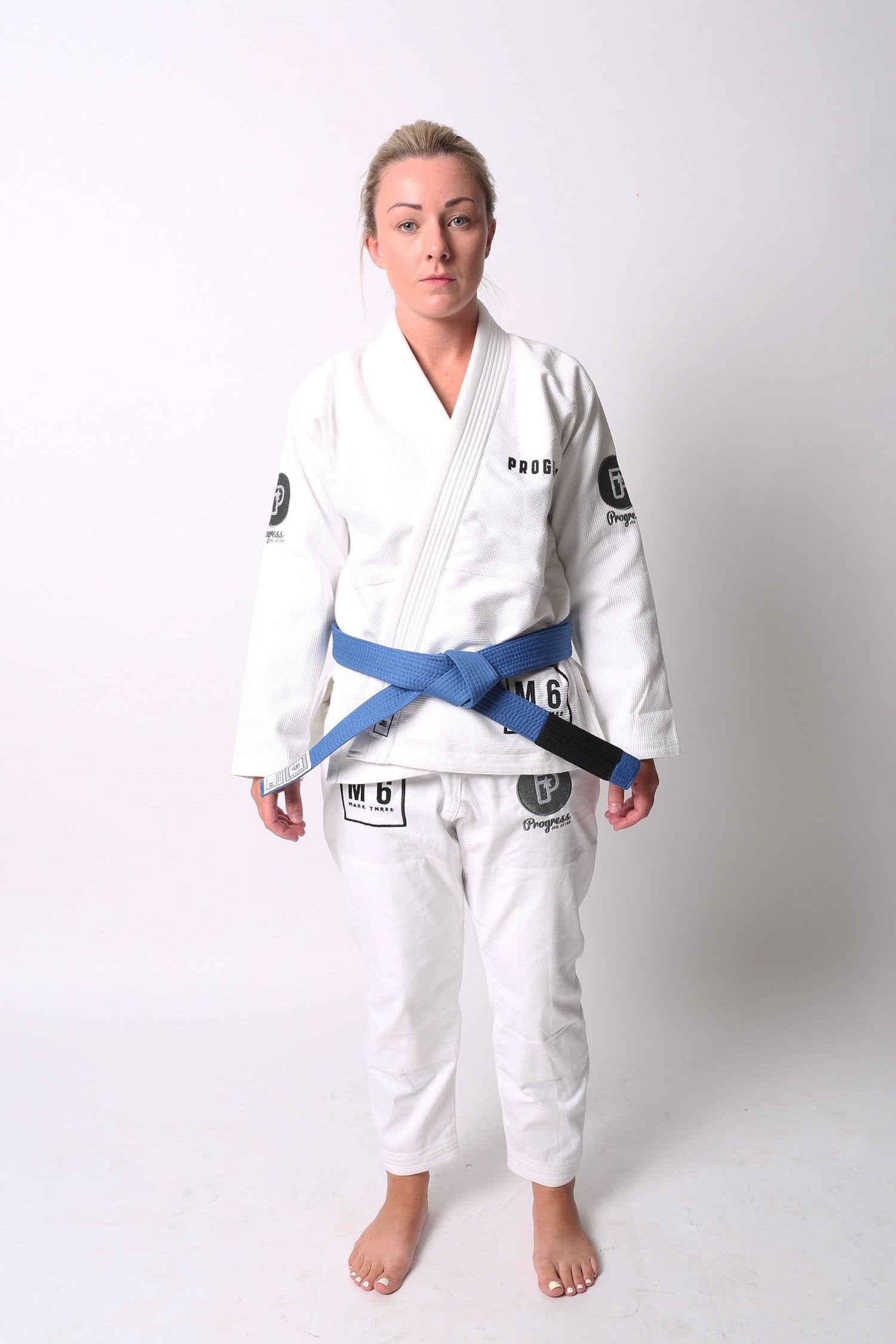 Image of Progress M6 MK3 White Ladies BJJ Gi