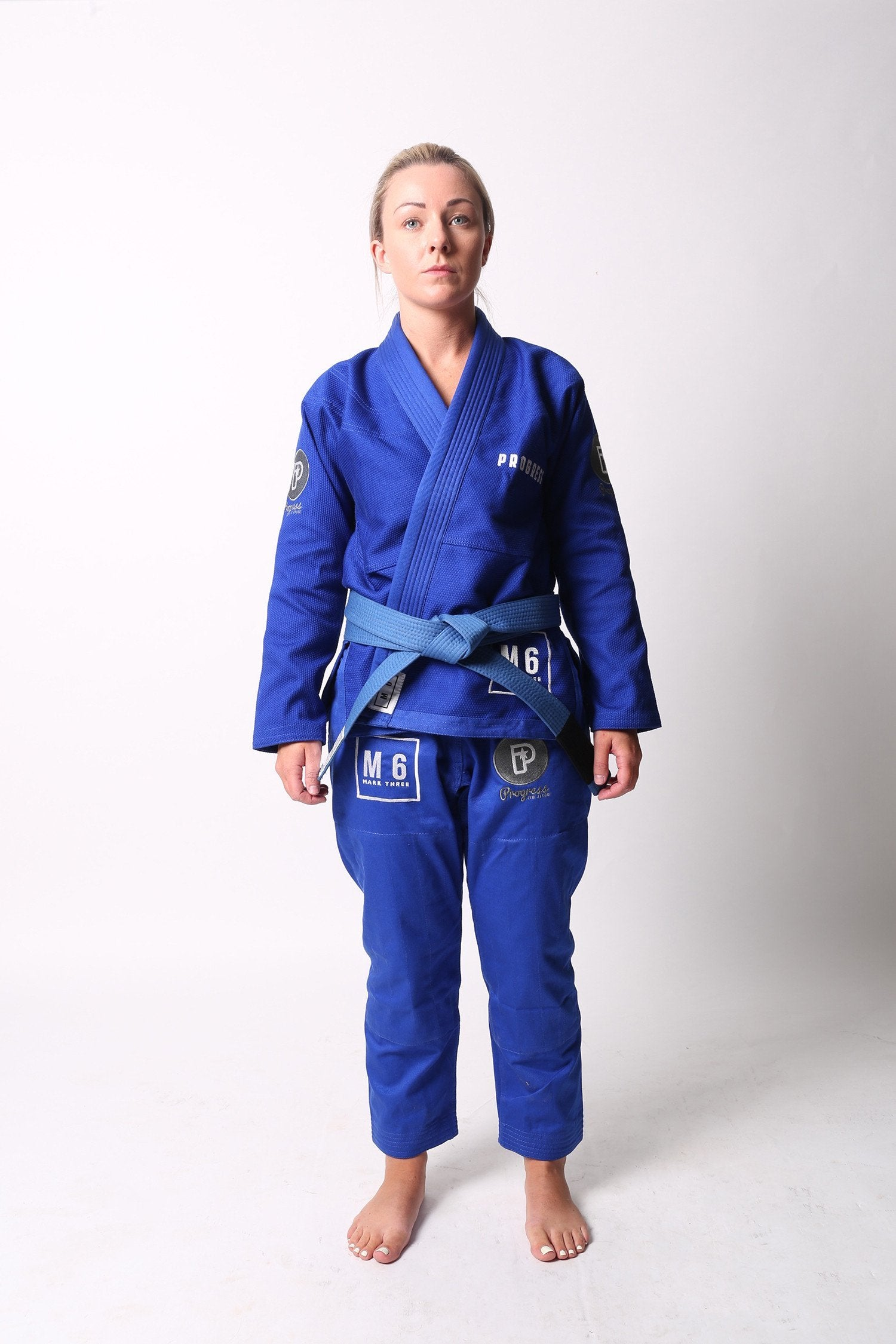 Image of Progress M6 MK3 Blue Ladies BJJ Gi